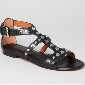 Rebecca Minkoff Studded Leather Santana Sandals